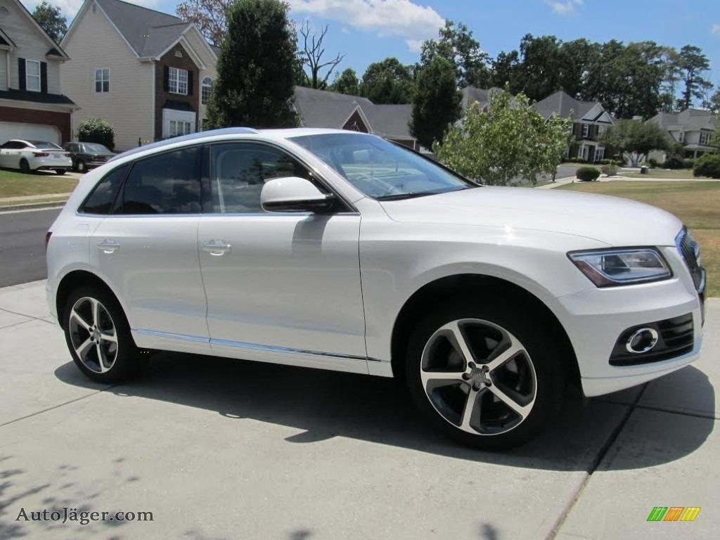 Ibis White / Pistachio Beige Audi Q5 2.0 TFSI Premium quattro