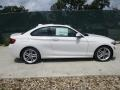 BMW 2 Series 228i xDrive Coupe Alpine White photo #2
