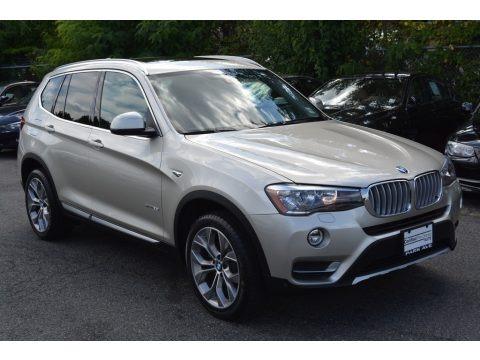 Mineral Silver Metallic 2016 BMW X3 xDrive28i