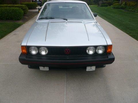 Cosmos Silver Metallic 1980 Volkswagen Scirocco Coupe