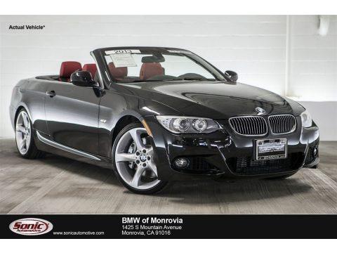 Black Sapphire Metallic 2013 BMW 3 Series 335i Convertible