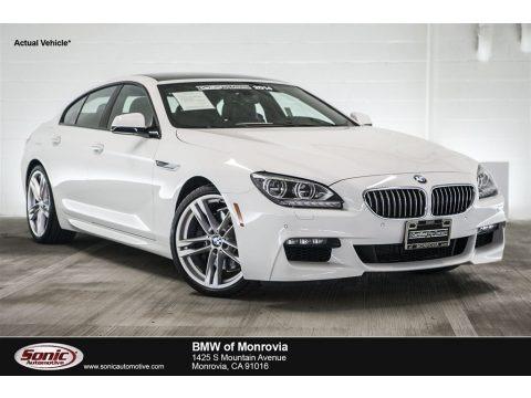 Alpine White 2014 BMW 6 Series 640i Gran Coupe