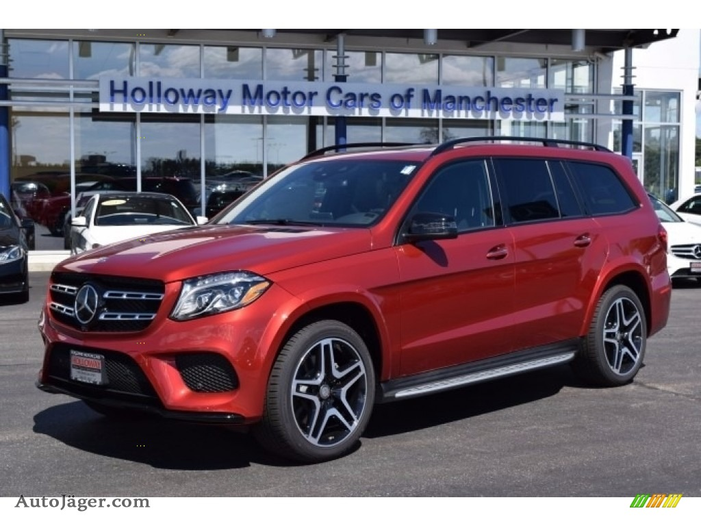 2017 mercedes benz gls 550 4matic in designo cardinal red for Holloway motor cars manchester