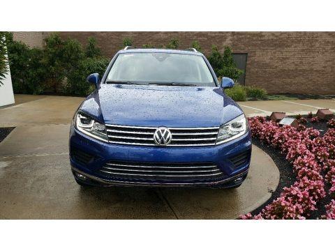 Reef Blue Metallic 2016 Volkswagen Touareg TDI Sport