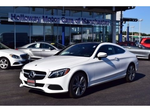 2017 mercedes benz c 300 4matic coupe in black for sale for Holloway motor cars manchester