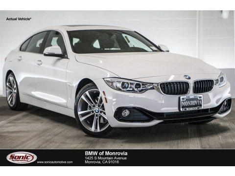 Alpine White 2017 BMW 4 Series 430i Gran Coupe