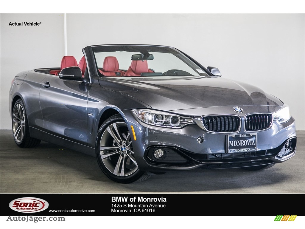 2017 Bmw 4 Series 430i Convertible In Mineral Grey