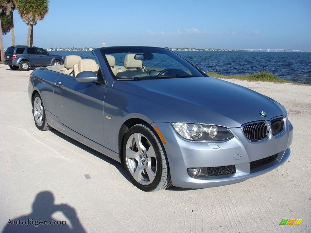 2009 bmw 3 series 328i convertible in blue water metallic. Black Bedroom Furniture Sets. Home Design Ideas