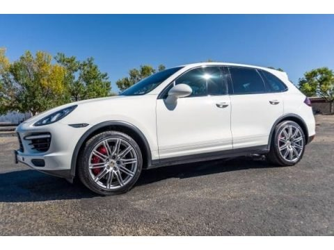 White 2012 Porsche Cayenne Turbo