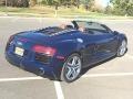 Audi R8 Spyder V8 Estoril Blue Crystal Effect photo #3