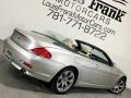 BMW 6 Series 650i Convertible Mineral Silver Metallic photo #5