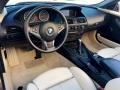 BMW 6 Series 650i Convertible Mineral Silver Metallic photo #9