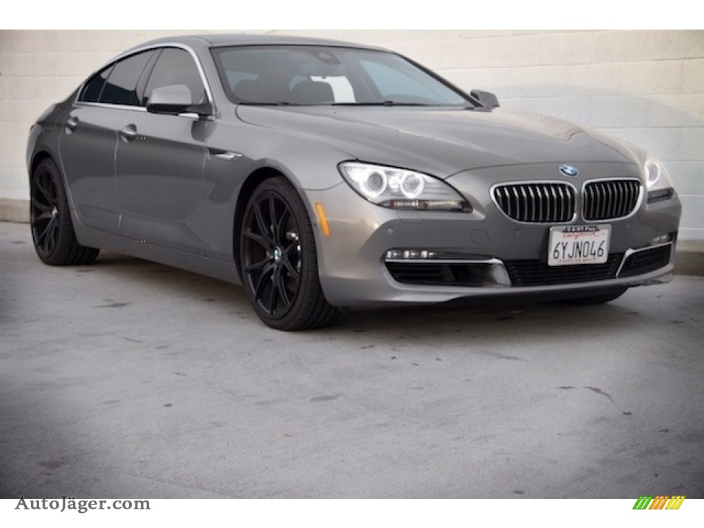 Space Gray Metallic / Black BMW 6 Series 640i Gran Coupe