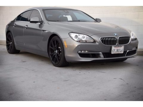 Space Gray Metallic 2013 BMW 6 Series 640i Gran Coupe