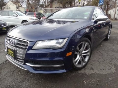 Estoril Blue Crystal 2013 Audi S7 4.0 TFSI quattro