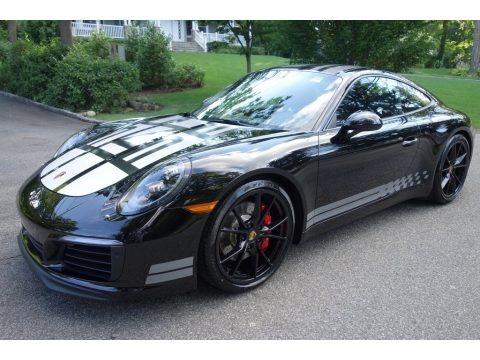 Black 2017 Porsche 911 Carrera S Coupe