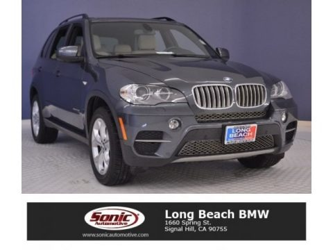 Platinum Gray Metallic 2013 BMW X5 xDrive 35d