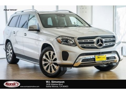 Iridium Silver Metallic 2017 Mercedes-Benz GLS 450 4Matic