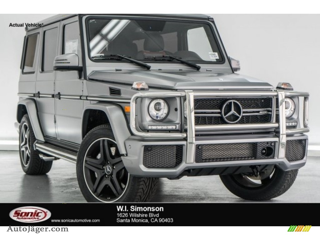 2017 mercedes benz g 63 amg in designo platinum magno for Simonson mercedes benz