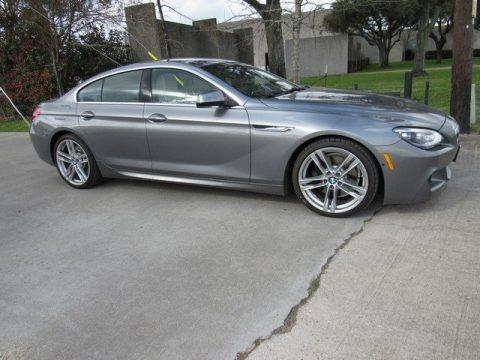 Space Gray Metallic 2013 BMW 6 Series 640i Gran Coupe