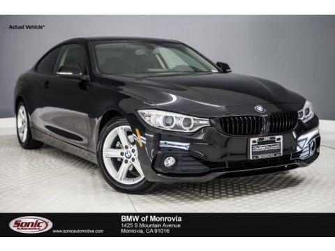 Black Sapphire Metallic 2014 BMW 4 Series 428i Coupe