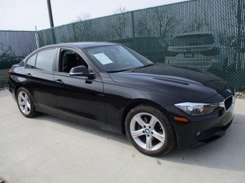 Jet Black 2014 BMW 3 Series 320i xDrive Sedan
