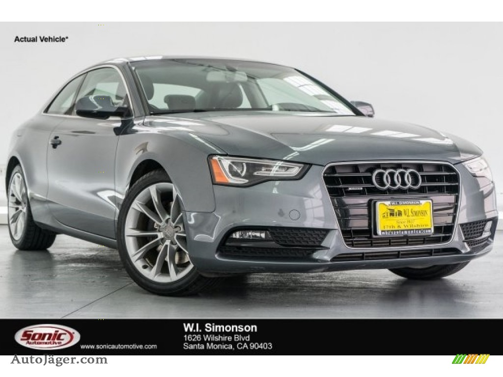 2013 audi a5 2 0t quattro coupe in monsoon gray metallic. Black Bedroom Furniture Sets. Home Design Ideas
