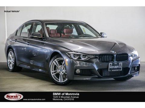 Mineral Grey Metallic 2017 BMW 3 Series 330i Sedan