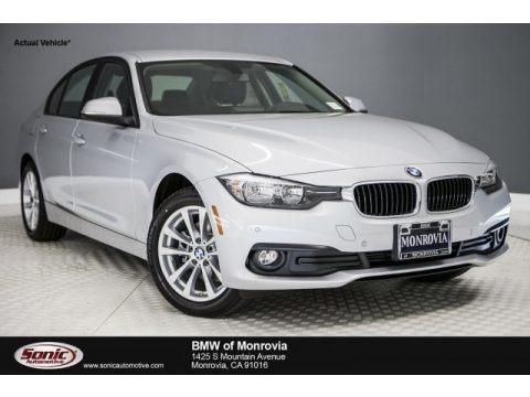 Glacier Silver Metallic 2017 BMW 3 Series 320i Sedan
