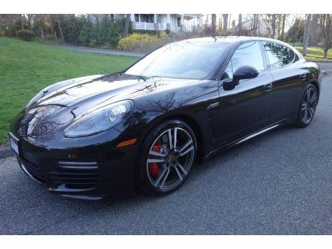 Black 2015 Porsche Panamera GTS
