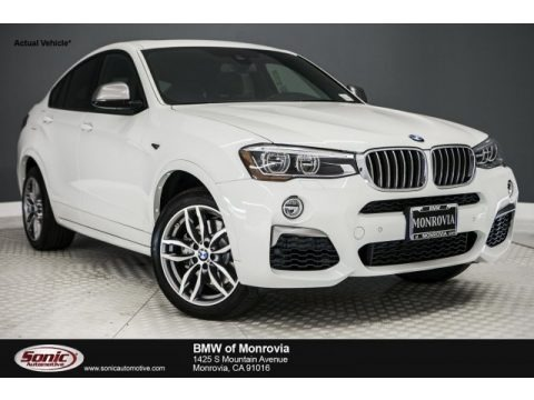 Alpine White 2018 BMW X4 M40i