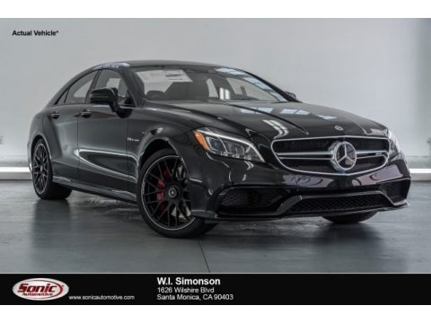 Obsidian Black Metallic 2017 Mercedes-Benz CLS AMG 63 S 4Matic Coupe