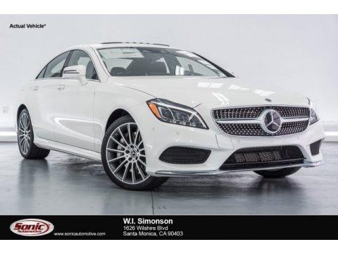 designo Diamond White Metallic 2017 Mercedes-Benz CLS 550 Coupe