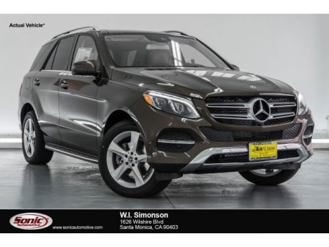 Dakota Brown Metallic 2017 Mercedes-Benz GLE 350