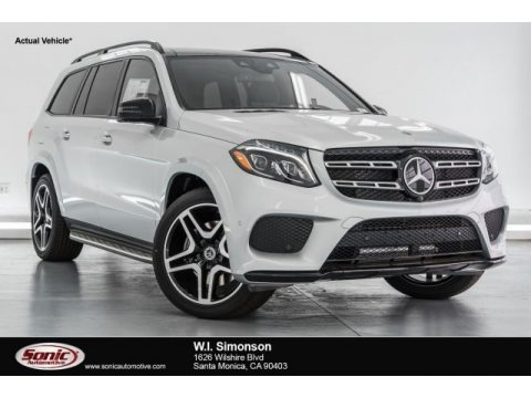 Iridium Silver Metallic 2017 Mercedes-Benz GLS 550 4Matic