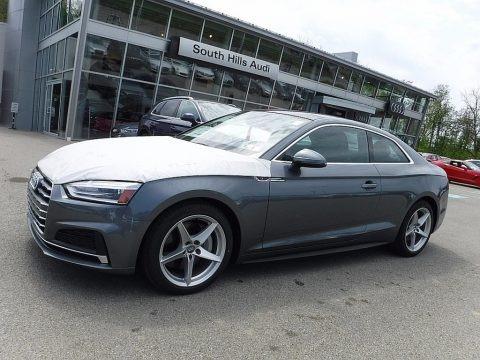 Monsoon Gray Metallic 2018 Audi A5 Premium quattro Coupe