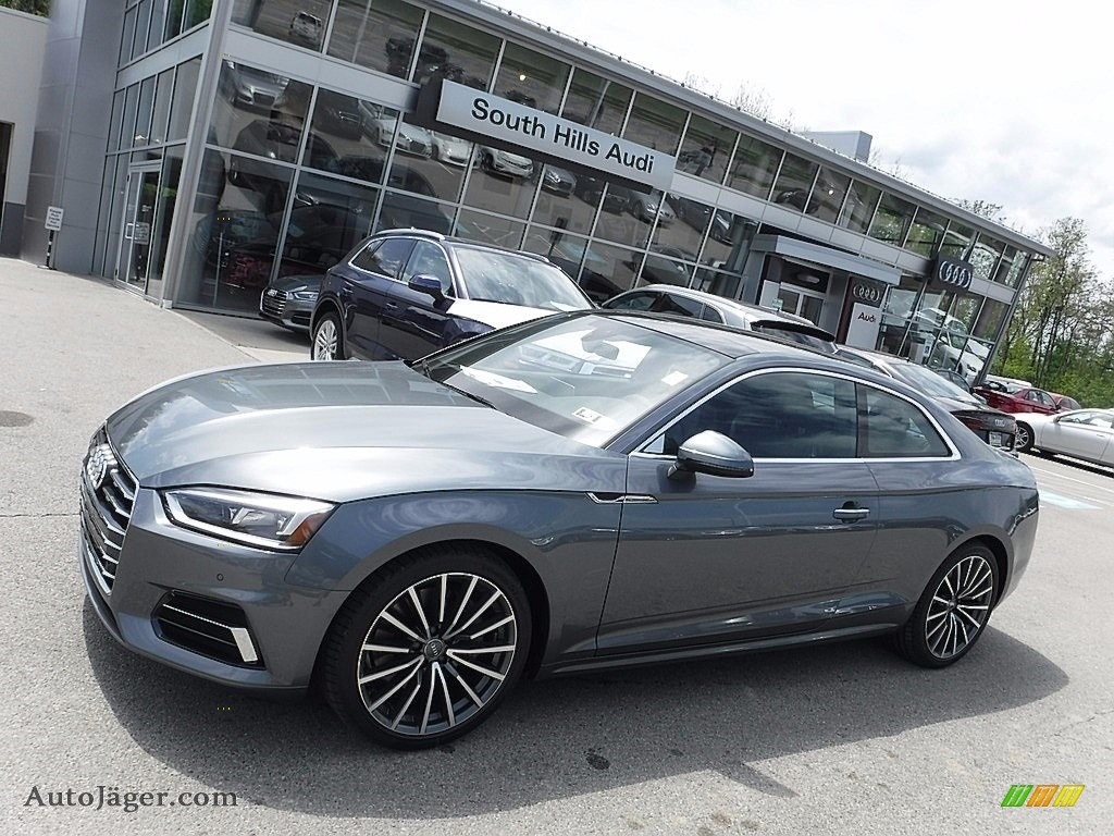 2018 Audi A5 Premium Plus Quattro Coupe In Monsoon Gray