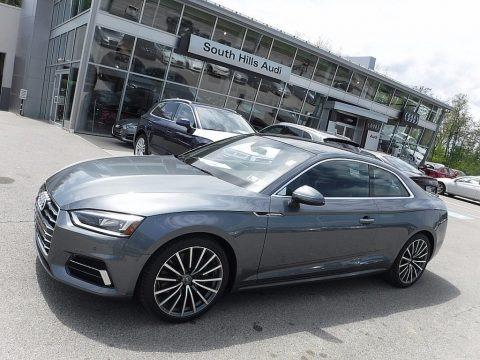 Monsoon Gray Metallic 2018 Audi A5 Premium Plus quattro Coupe