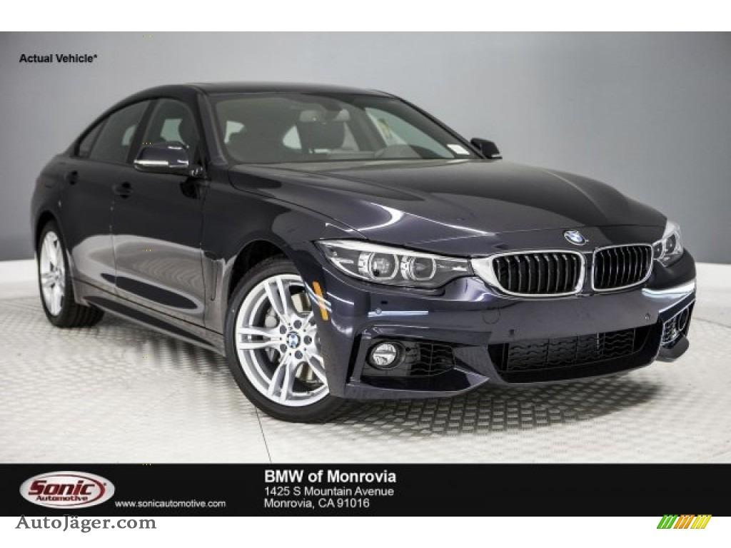 Carbon Black Metallic BMW 4 Series 440i Gran Coupe