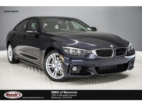 Carbon Black Metallic 2018 BMW 4 Series 440i Gran Coupe