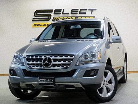 Palladium Silver Metallic 2011 Mercedes-Benz ML 350 4Matic