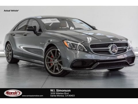 Selenite Grey Metallic 2017 Mercedes-Benz CLS AMG 63 S 4Matic Coupe