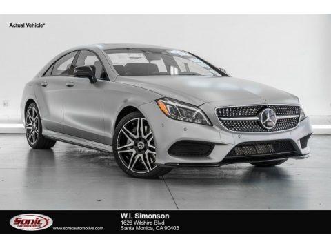 designo Magno Alanite Grey (Matte) 2017 Mercedes-Benz CLS 550 Coupe