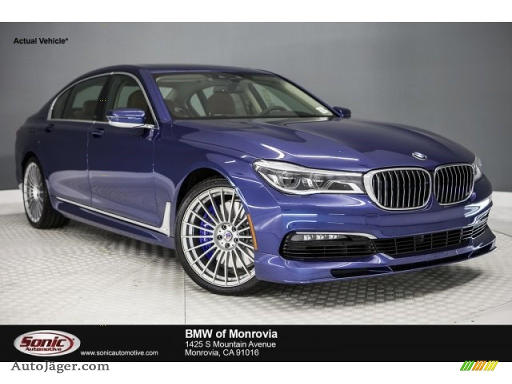 2017 bmw 7 series alpina b7 xdrive in alpina blue metallic. Black Bedroom Furniture Sets. Home Design Ideas