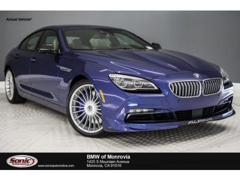ALPINA Blue Metallic 2017 BMW 6 Series ALPINA B6 xDrive Gran Coupe