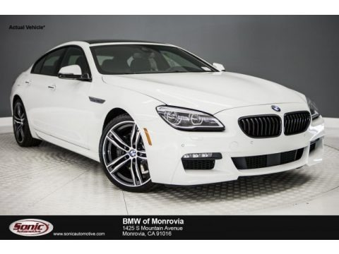 Alpine White 2018 BMW 6 Series 640i Gran Coupe
