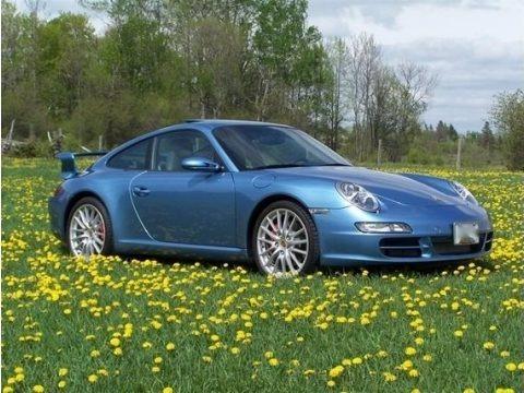 Azzuro California 2006 Porsche 911 Carrera S Coupe