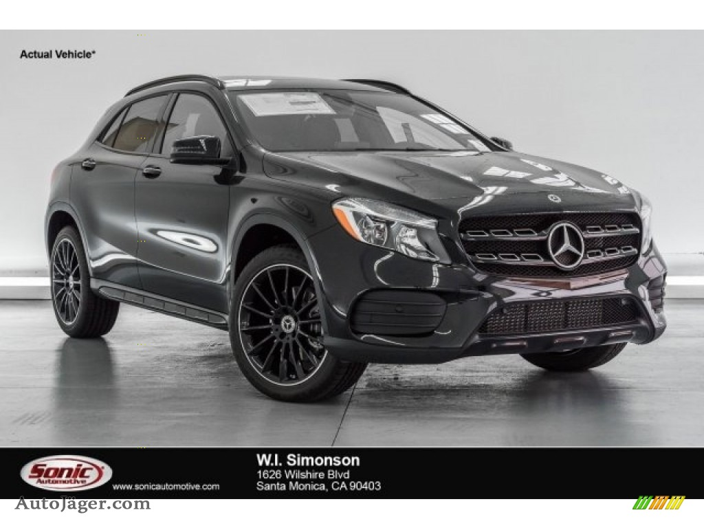 2018 mercedes benz gla 250 in night black 383464 auto j ger german cars for sale in the us. Black Bedroom Furniture Sets. Home Design Ideas