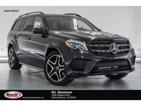 Black 2017 Mercedes-Benz GLS 550 4Matic