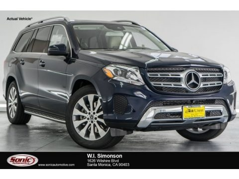 Lunar Blue Metallic 2017 Mercedes-Benz GLS 450 4Matic